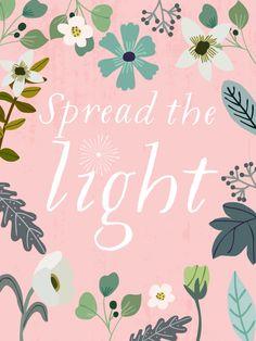 Spread the light   Mia Charro
