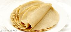 Buckwheat Curry Tortillas Gf Bread Recipe, Bread Recipes, Savory Pancakes, Buckwheat, Tortillas, Peanut Butter, Spicy, Curry, Lunch