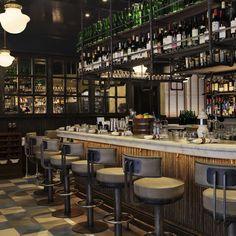 Bar design #restaurantdesign | DETAILS | Pinterest | Bar, Restaurant ...