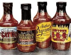 Kansas City Barbecue Sauces - oh, yeah!  All y'all... WE KNOW BARBEQUE!!!!!
