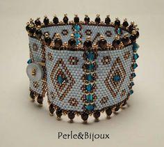 Perle&Bijoux: Bracciale Fascia Peyote