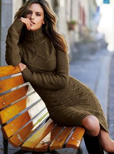 cable sweaterdress Clearance$39.99