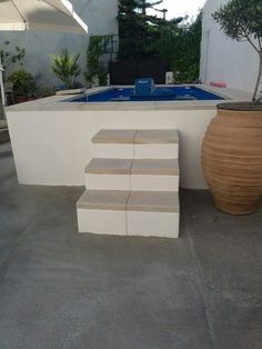above ground pool intex build in