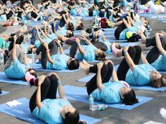 Slideshow : Mexico City - Preparation for International Yoga Day in India and other parts of world - The Economic Times