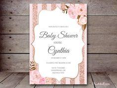 Bridal Shower Invitations – Printabell • Create