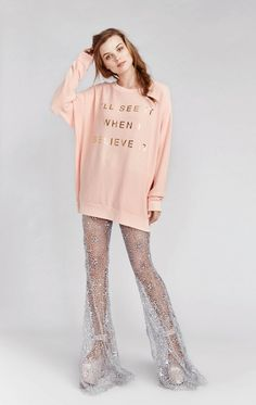 Wildfox Couture If You Believe It Roadtrip Sweater
