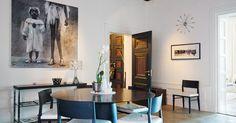 Apartamento de estilo y elegancia de principios del sXX - 1748 #Hometour elegancia #interiorismo #decoracion #estilo
