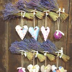 Lavander Pot Pourri Hearts