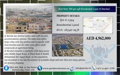 Best Rate 300 per sqft Residential Land Al Barsha2 Key Features : Location : Al Barsha 2 Type : Non-Freehold Residential Plot, Local and GCC Buyers only Ownership : Lifetime Status : Empty Permission : G+1 Plot Size : 16,540 square feet (as per affection plan) Rate : AED300 / square feet Total Sale Price : AED4,962,000 /- net to owner + 4% Transfer Fee + 2% Agency Fee