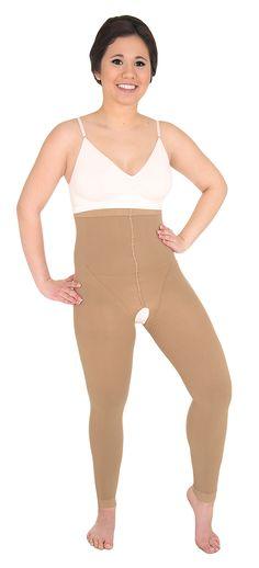 SOLIDEA Body Lipo | COMFY High Waist Legging w. Open Crotch!