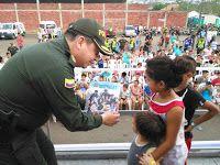 Noticias de Cúcuta: La Policía Nacional fomenta la cultura de educar