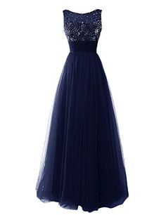 Dresstells® Women's Long Prom Dress Bridesmaid Party Dress with Beadings Navy Size 2 Dresstells http://www.amazon.ca/dp/B00YXQBC04/ref=cm_sw_r_pi_dp_tTzAwb0FJ0K0F