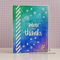 Craftybit: Snow Much Thanks