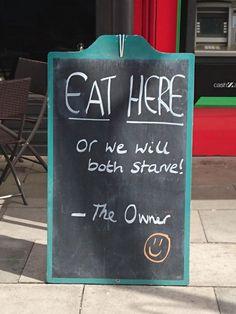 15 éttermi csalogatótábla, ami mellett nem lehet elmenni röhögés nélkül | NLCafé
