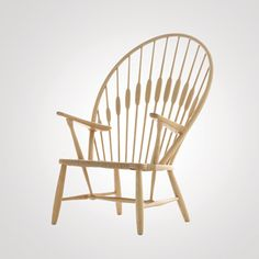 OOOH, I want one of these, too..... Peacock Chair by Hans Wegner, 1947.  Gorgeous craftsmanship.