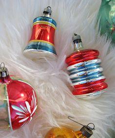 vintage christmas tree ornaments -6 by ...love Maegan, via Flickr