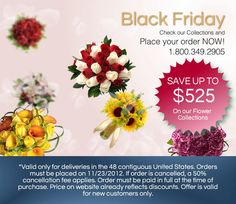 Huge Black Friday Sale: Buy your wedding flowers in advance with this 25% discount on all wedding flowers!!! www.Bridesign.com