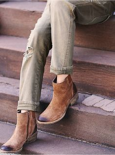 Free People Everyday Distressed Boot, $120.00