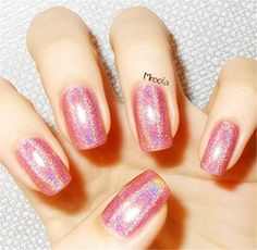 Born Pretty Holographic Holo Glitter Nail Polish Varnish Hologram Effect Pink 2 >>> Be sure to check out this awesome product.Note:It is affiliate link to Amazon.