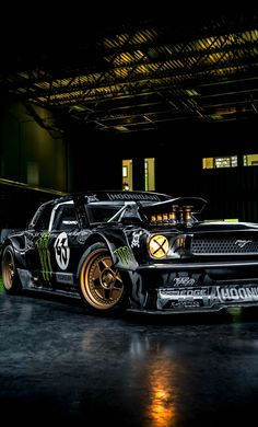 "Ken Block's 845 HP ""Hoonicorn"" 1965 Ford Mustang"