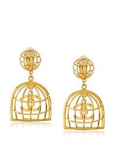 CHANEL Cage Earrings