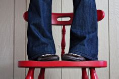 SWEET!!!!!! Sew Much Ado: Tutorial: How to Hem Jeans {And Keep The Original Hem}