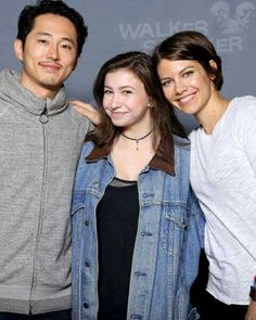 Glenn, Enid, and Maggie.  Awesome!!!