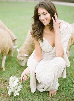 Image by KT Merry. See more in the Winter 2014 issue of Weddings Unveiled: www.weddingsunveiledmagazine.com. Wedding Make Up, Wedding Bride, Dream Wedding, V Neck Wedding Dress, Wedding Dresses, Middleton Place, Southern Weddings, Wedding Images, Elegant