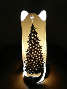 Artistic lamp (Pine and Christmas Tree)  Follow us on instagram : @vklazhlamp
