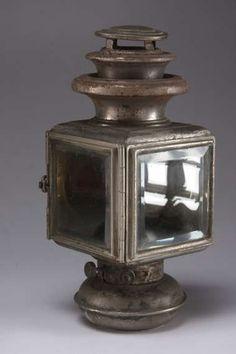Lantern Kerosene Carriage Lamp by VintagebyViola on Etsy