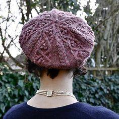 d40d71eea5f Druidess Beret. Bobble HatsLearn How To KnitKnitting KitsKnitting ...