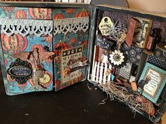 Steampunk Spells Altered Cigar Box by Denise Johnson www.junquesoiree.blogspot.com