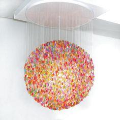 gummy bear chandelier. http://www.jellio.com/store/minicanedlier.html#