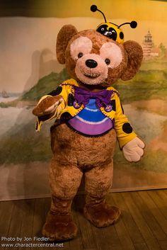Duffy Dressed for Halloween #Duffy #DisneyBear #DuffyTheDisneyBear