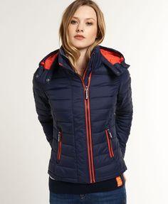 Superdry - Veste à double zip Fuji - Vestes et manteaux pour Femme