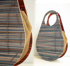 double sided wooden handbag by AnnaMoraitou on Etsy