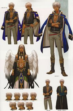 Kamigami no Asobi-Thot-character designs-like only the god mode is so stuning !!!