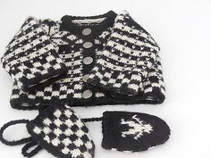 American Girl Kirsten Sweater and Mittens 1989