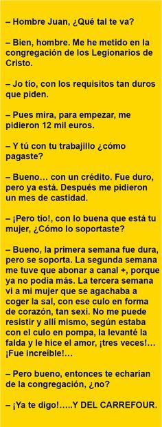 Hombre Juan, ¿ Qué tal te va ? … | AldeaViral
