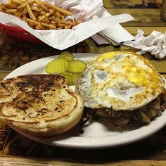 El Reno, OK | Sid's Diner. One of Food & Wine's best diners. You can't leave Sid's without one of owner Marty Hall's onion-fried burgers, an El Reno delicacy where the patty and thinly sliced onions magically become one on the griddle (well, thanks to a few spirited whacks of the spatula).