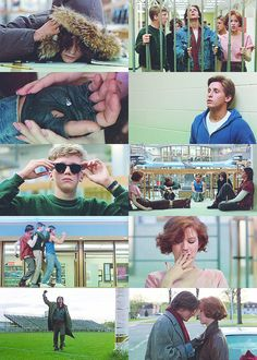 """The Breakfast Club"" (1985)  Each one of us is a brain...and an athlete... and a basket case...a princess...and a criminal. Sincerely yours, the Breakfast Club."