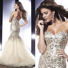 Sexy Prom Dress Sweetheart Sequins/Crystal/Rhinestone Floor-Length Prom Dresses Tony Bowls 2014 $229.00  http://www.aliexpress.com/store/product/Sexy-Prom-Dress-Sweetheart-Sequins-Crystal-Rhinestone-Floor-Length-Prom-Dresses-Tony-Bowls-2014/1093811_1633594231.html