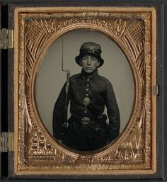 An unidentified soldier of the 5th New Hampshire Infantry (Library of Congress)
