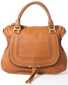 Chloe 'Marcie' Large Leather Shoulder Bag