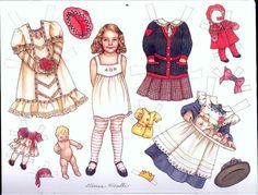 These cute paper dolls, want to share / Paper dolls / Beybiki. Clothes for dolls Polly Pocket, Dyi Crafts, Paper Crafts, Paper Dolls Clothing, Bad Drawings, Paper Dolls Printable, American Doll Clothes, Paper Animals, Vintage Paper Dolls