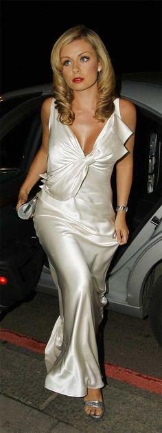 White Satin Dress, Silk Mini Dress, Satin Dresses, Sexy Dresses, Beautiful Dresses, Nice Dresses, Silk Evening Gown, Silk Gown, Kate Galloway