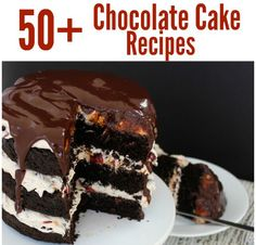 50 Decadent Chocolate Cake Recipes raquo Call Me PMc 50 Decadent Chocolate Cake Recipes they are beautiful they delicious. Choose your favorite chocolate cake recipe now! Homemade Cake Recipes, Best Cake Recipes, Pound Cake Recipes, Frosting Recipes, Snack Recipes, Dessert Recipes, Favorite Recipes, Cheese Recipes, Cooking Recipes
