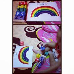 Rainbow colors recognition