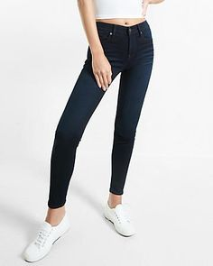 mid rise stretch+supersoft jean leggings