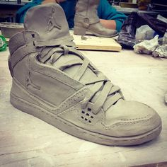 Check out this WVU's student's first hand building project out of ceramics! Awesome job @aaronhinish. #WVU #connectwvu #jordans